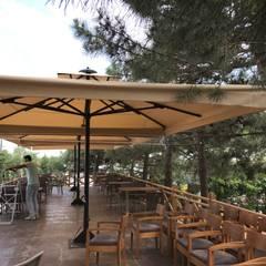 Akaydın şemsiye – ÇAMLICA CAFE ŞEMSİYESİ: tropikal tarz tarz Bahçe