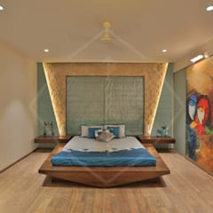 Bedroom by SPACCE INTERIORS
