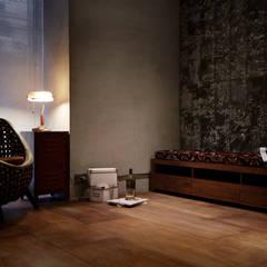 隨意放鬆小酒館的feel 根據 弘悅國際室內裝修有限公司 工業風 合板