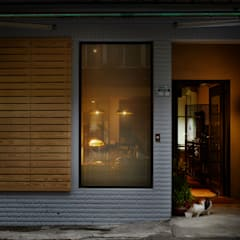 隨意放鬆小酒館的feel 根據 弘悅國際室內裝修有限公司 工業風 磁磚