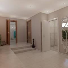 EZGİ AYDOGDU İçmimarlık Danışmanlık ve İnşaat Hiz. – Yalova_Villa_Sauna :  tarz Spa