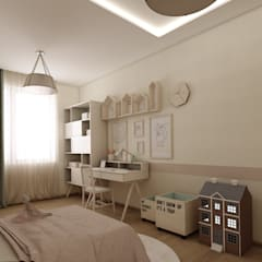 EZGİ AYDOGDU İçmimarlık Danışmanlık ve İnşaat Hiz. – Çocuk Odaları :  tarz Çocuk Odası