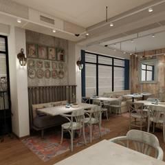 EZGİ AYDOGDU İçmimarlık Danışmanlık ve İnşaat Hiz. – Mekke _ Cafe&Boutique:  tarz Yeme & İçme