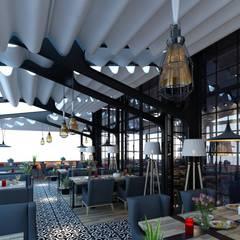 EZGİ AYDOGDU İçmimarlık Danışmanlık ve İnşaat Hiz. – Ataşehir_Restoran_Ocakbaşı:  tarz Yeme & İçme
