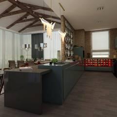 EZGİ AYDOGDU İçmimarlık Danışmanlık ve İnşaat Hiz. – Yemek Odası:  tarz Yemek Odası