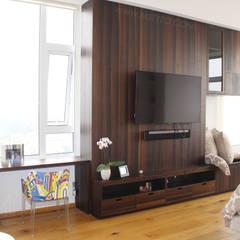 Mueble instalado: Recámaras de estilo ecléctico por MSTYZO Diseño y fabricación de mobiliario