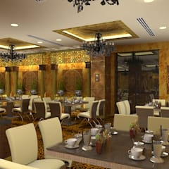 Banquet hall:  Event venues by Gurooji Design