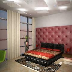 Laurel Interiors Modern style bedroom by Gurooji Designs Modern