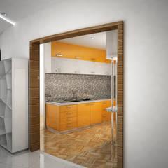 Laurel Interiors Modern kitchen by Gurooji Designs Modern