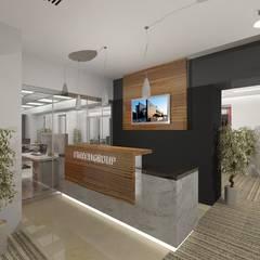 مكاتب ومحلات تنفيذ Gurooji Designs, حداثي