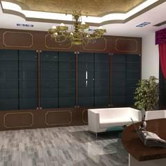 Arabic Villa :  Study/office by Gurooji Design