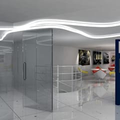 Peugeot Service station - SZR:  Car Dealerships by Gurooji Design