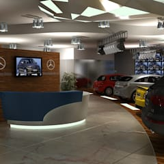 Car Showroom:  Car Dealerships by Gurooji Design