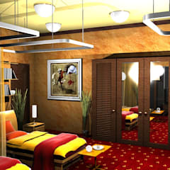 Police Club:  Hotels by Gurooji Design
