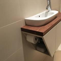 Bathroom by Atelier Körner Studio für Gestaltung Wien/Berlin,