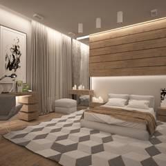 Vesconti_473 кв.м (с дизайн-проектом): Спальни в . Автор – Vesco Construction