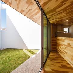 haus-duo: 一級建築士事務所hausが手掛けた庭です。