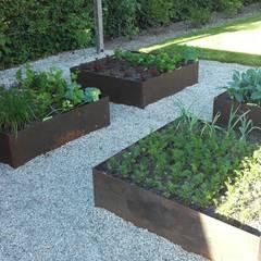 Garten mit Naturpool:  Garten von Galabau Michael Richter