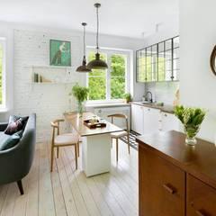 Lampa wisząca ROSALIA: styl , w kategorii Kuchnia zaprojektowany przez Mlamp