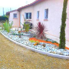 Création Jardin: Jardin de style de style Classique par Jacques Begot