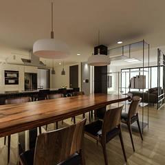 전주 주택 리모델링: 디자인 이업의  주방,