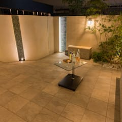 ナイトシーン4: 株式会社 岡本ガーデンが手掛けた庭です。