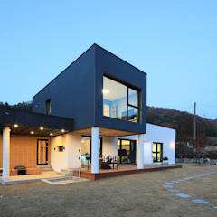 Houses by 공감로하 건축사사무소