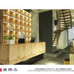Restaurantes de estilo  por 京悅室內裝修設計工程(有)公司|真水空間建築設計居研所