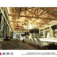 句點公益商店  - 京悅設計:  餐廳 by 京悅室內裝修設計工程(有)公司|真水空間建築設計居研所, 古典風