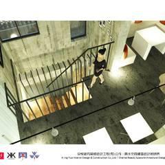 Espaços comerciais  por 京悅室內裝修設計工程(有)公司|真水空間建築設計居研所