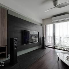 Living room by 茗匠有限公司