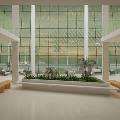 CCHI - Centro de Cultura e História Ipamerina Museus modernos por Julio de Faria - Arquiteto e Urbanista Moderno Concreto