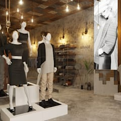 Retail Interior Design :  Commercial Spaces by Mary Lakzy