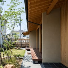 Atap gable by 小笠原建築研究室