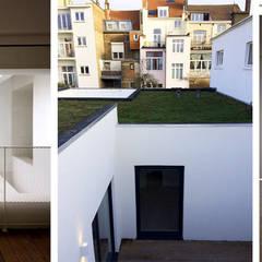 CSLT95+: Jardin de style  par phdvarvhitecture, Industriel