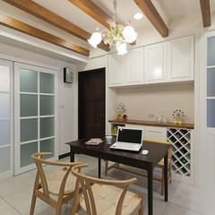 اتاق غذاخوری توسط弘悅國際室內裝修有限公司