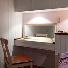 غرفة نوم تنفيذ 弘悅國際室內裝修有限公司