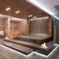 Spa by STIMAMIGLIO conceptluxurydesign, Modern Wood Wood effect