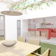 Casa Luz BH: Closets minimalistas por OMA Arquitetura
