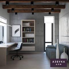 Частный дом «Осинка»: Рабочие кабинеты в . Автор – Студия дизайна 'Азбука Дом',