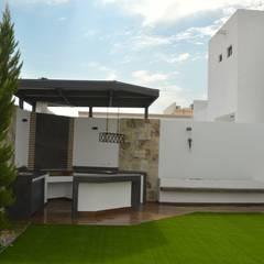 สวน by Daniel Teyechea, Arquitectura & Construccion