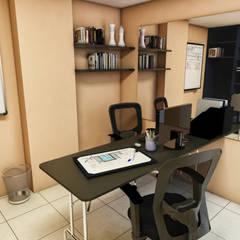 Oficinas BAUGËN STUDIO: Oficinas y tiendas de estilo  por BAUGËN STUDIO