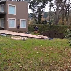 Diseño de eco- parque en Sierra de los Padres: Jardines de estilo  por LT Paisaje Diseño Sustentable