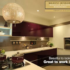 Kitchen by MAJESTIC INTERIORS