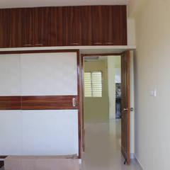 غرفة نوم تنفيذ Scale Inch Pvt. Ltd.