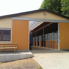 Hallenbau:  Häuser von Architekturbüro Sascha Malz