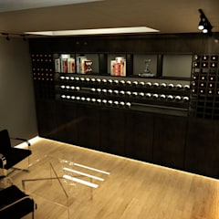 Wine cellar by Metamorfosis Arquitectura