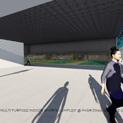 indoor sports complex:  Stadiums by studio B.A.D