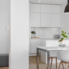 Projekt mieszkania 132m2 WIlanów: styl , w kategorii Jadalnia zaprojektowany przez DESIGN MY DEER