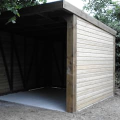 Exterior Store:  Garage/shed by Pristine Garden Rooms